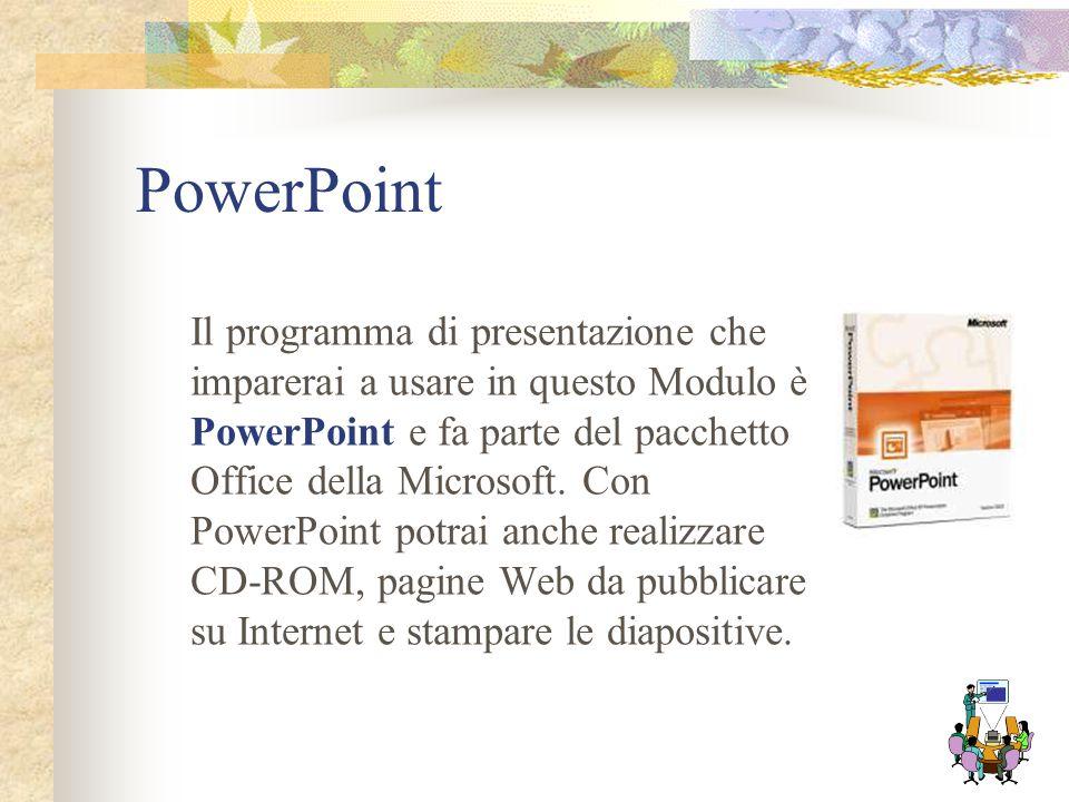 Per una presentazione che catturi l'attenzione del pubblico, è talvolta utile servirsi del computer. Esistono programmi che permettono di realizzare p