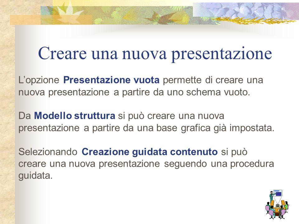 La finestra di PowerPoint