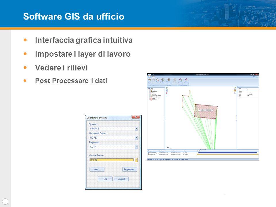 Grazie !!! GPS per GIS