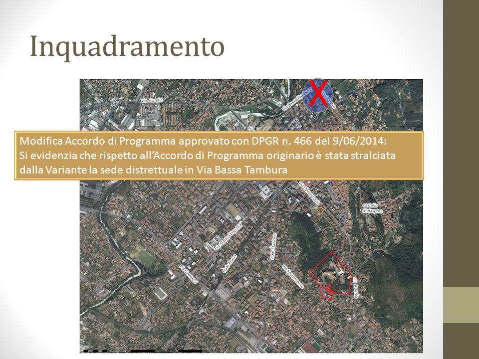 Le quantità dell'Accordo di Programma Complessivamente la Variante prevede una Quantità di Superficie Utile Lorda massima di 20.000mq: SUL Residenziale: 12.000mq SUL direzionale, commerciale, servizi ed attrezzature di interesse generale: 8.000mq Standard Urbanistici: 12.000mq circa Di cui a verde pubblico attrezzato e parcheggi: 9.000mq