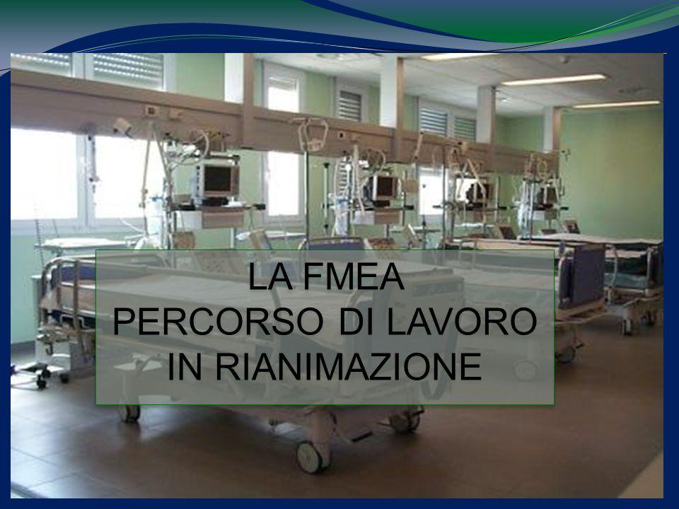 © 2009 EmmEffe S.r.l. All rights reserved 9 LA FMEA PERCORSO DI LAVORO IN RIANIMAZIONE