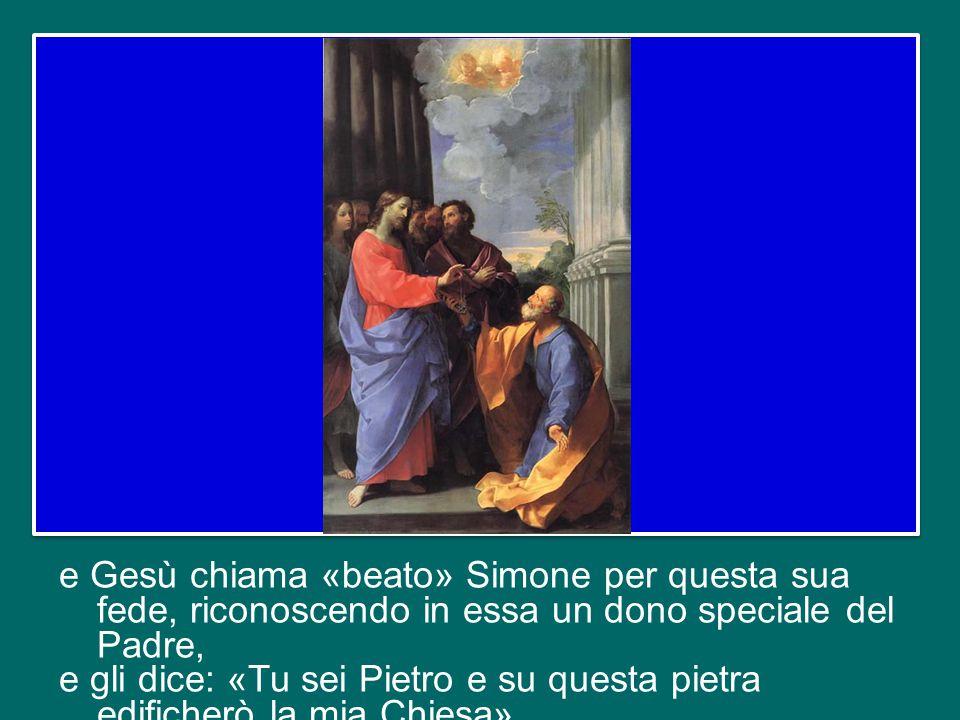 Il Vangelo di questa domenica (Mt 16,13-20) è il celebre passo, centrale nel racconto di Matteo, in cui Simone, a nome dei Dodici, professa la sua fede in Gesù come «il Cristo, il Figlio del Dio vivente»;