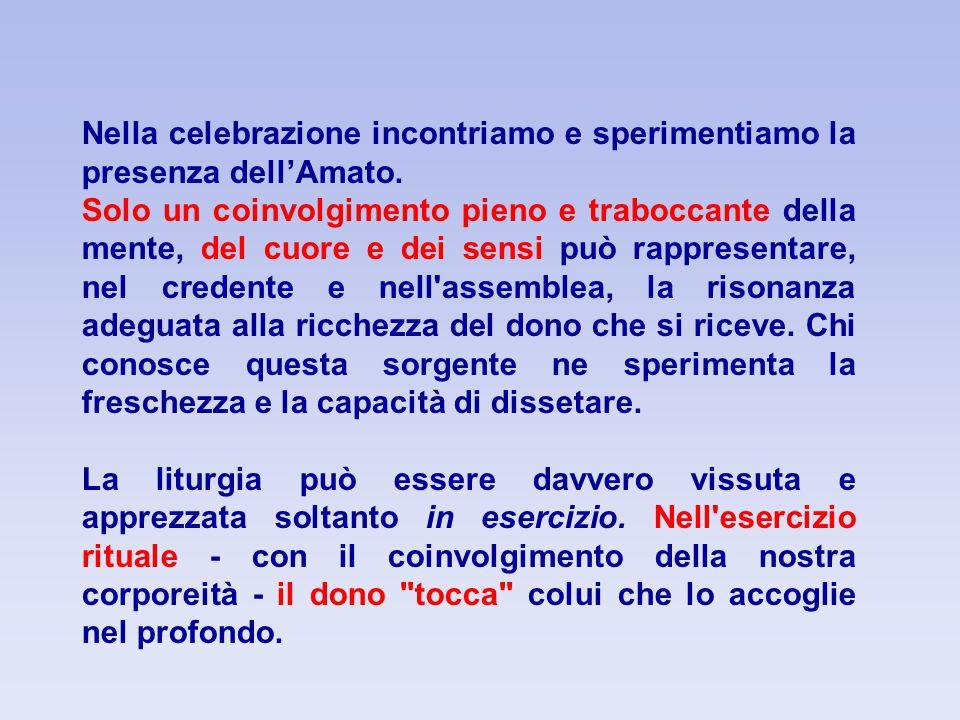 Il popolo manifesta la propria partecipazione attraverso l'Amen (CCC, n.1348).