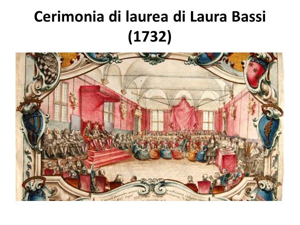 Cerimonia di laurea di Laura Bassi (1732)