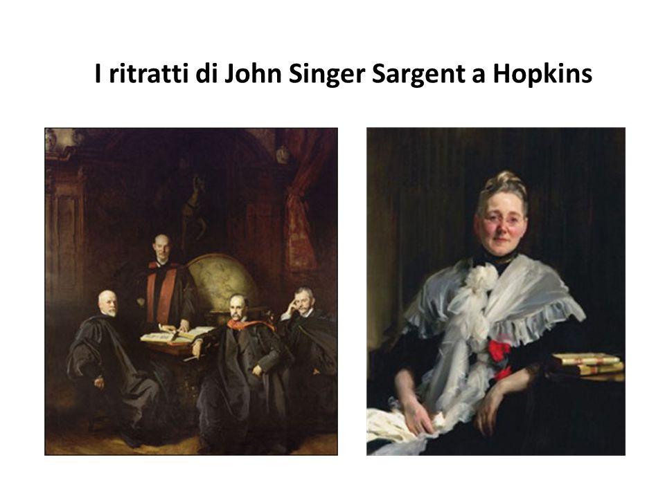I ritratti di John Singer Sargent a Hopkins