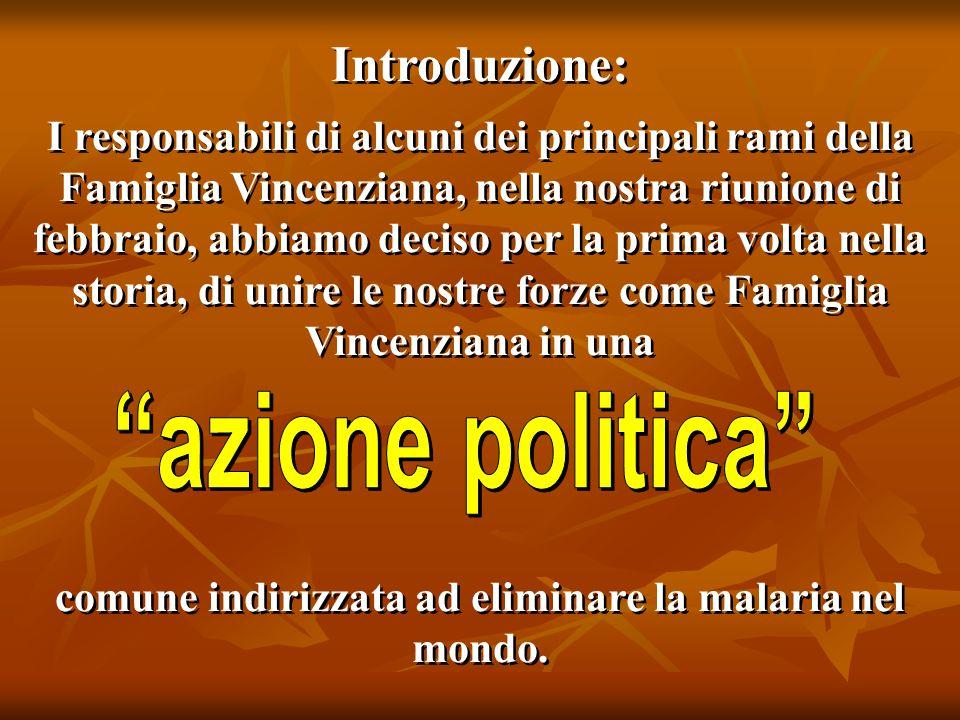 Introduzione: I responsabili di alcuni dei principali rami della Famiglia Vincenziana, nella nostra riunione di febbraio, abbiamo deciso per la prima