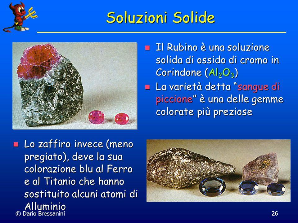 © Dario Bressanini25 Soluzioni