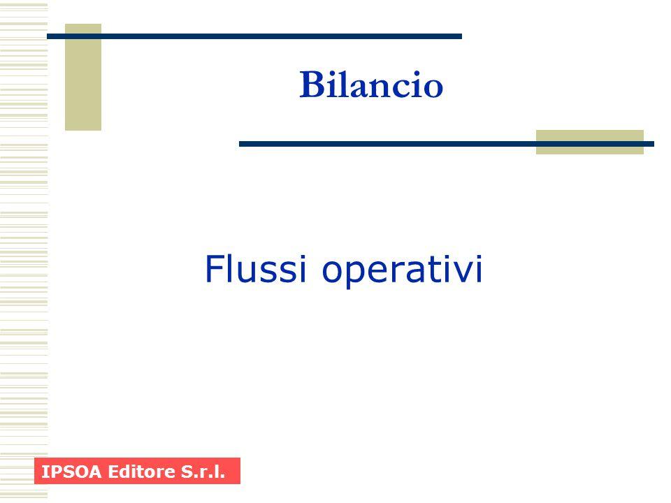 Bilancio Flussi operativi IPSOA Editore S.r.l.