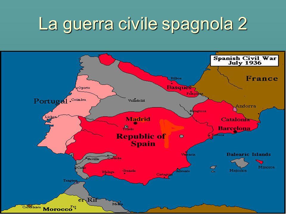 La guerra civile spagnola 2
