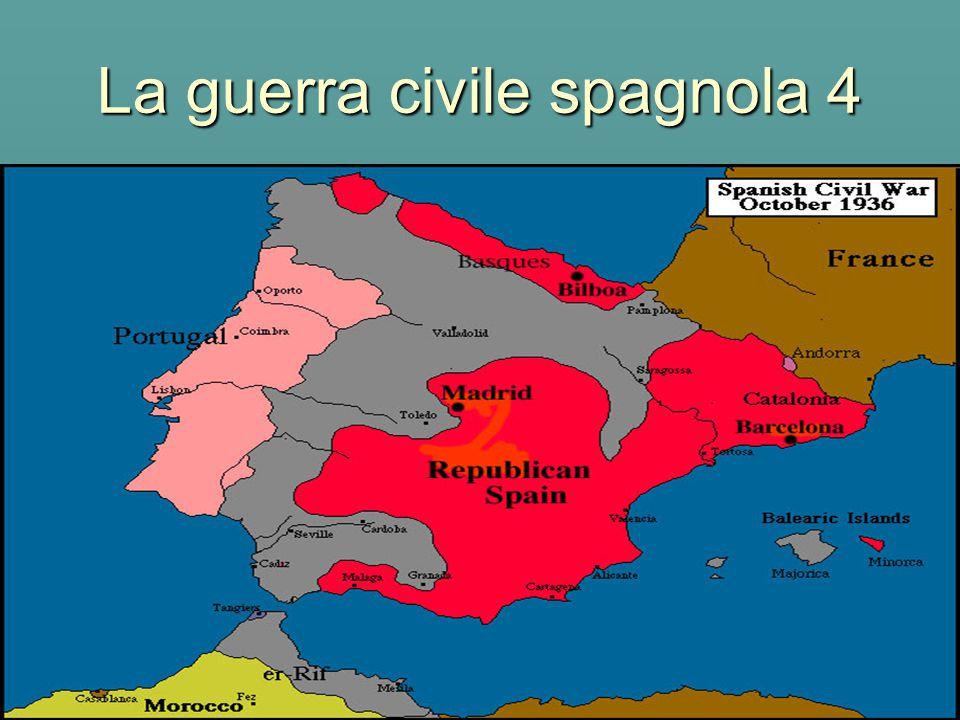 La guerra civile spagnola 4