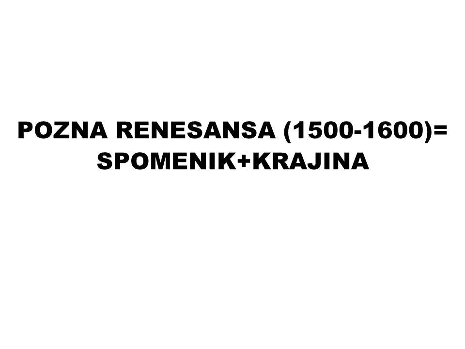 POLITIČNA KARTA EVROPE 1590