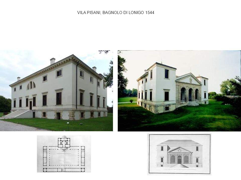 VILA PISANI, BAGNOLO DI LONIGO 1544