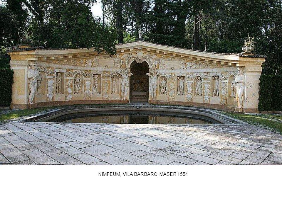 NIMFEUM, VILA BARBARO, MASER 1554