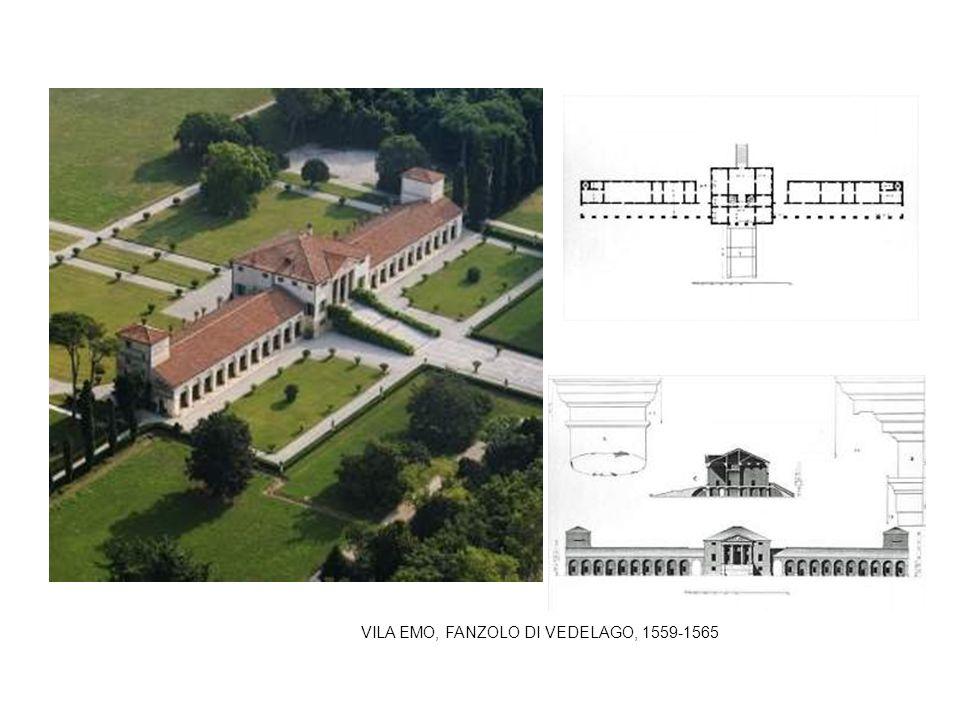 VILA EMO, FANZOLO DI VEDELAGO, 1559-1565