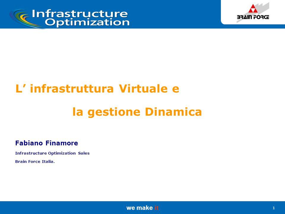 we make it 2 La Riduzione del TCO in ABB Group Services Center Italia: progetto basato su Windows Server 2003 e Systems Management Server 2003