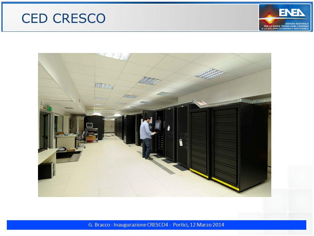 G. Bracco - Inaugurazione CRESCO4 - Portici, 12 Marzo 2014 ENE CED CRESCO
