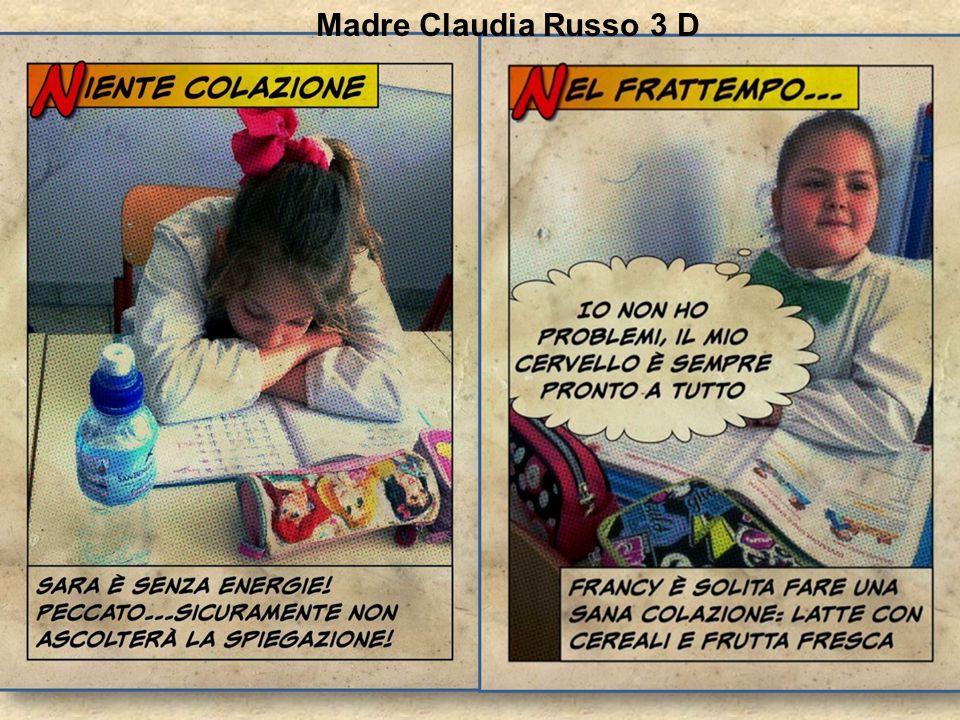 Madre Claudia Russo 3 D