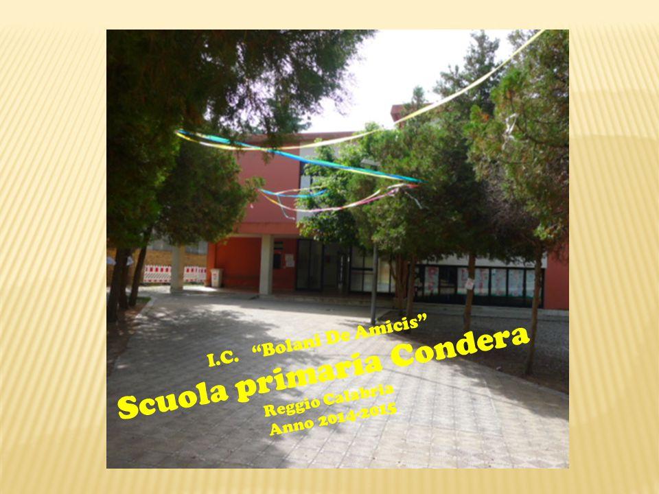 I.C. Bolani De Amicis Scuola primaria Condera Reggio Calabria Anno 2014-2015
