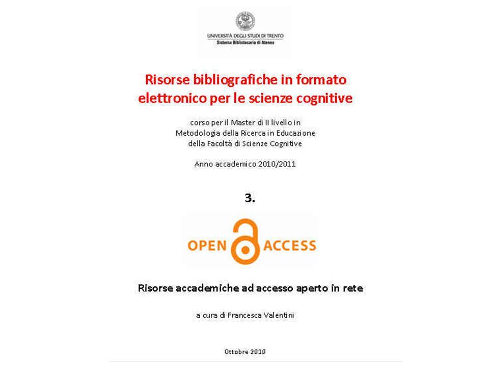 22 ottobre 2010SBA. Ufficio Anagrafe della ricerca, Archivi istituzionali e supporto editoriale 1