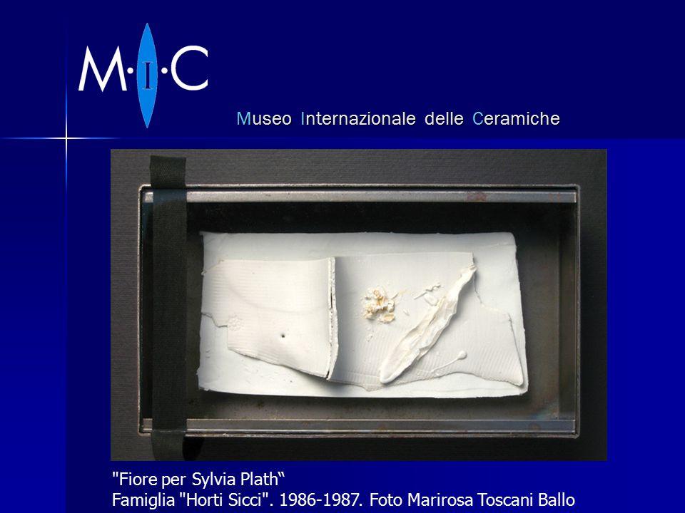 Museo Internazionale delle Ceramiche Fiore per Sylvia Plath Famiglia Horti Sicci .