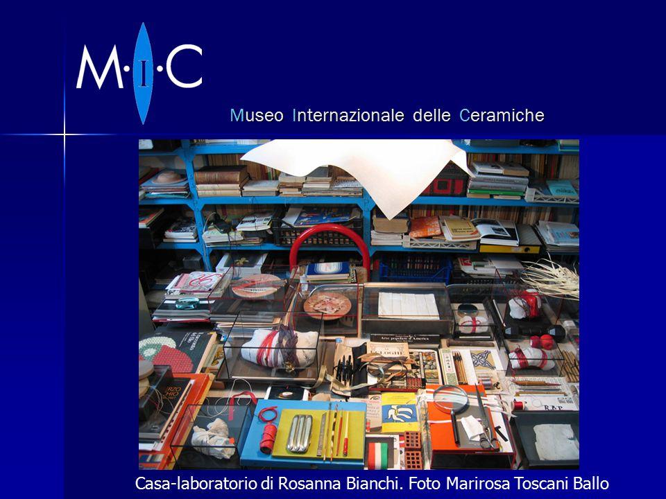 Museo Internazionale delle Ceramiche Casa-laboratorio di Rosanna Bianchi.