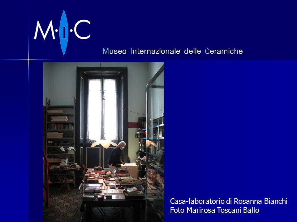 Museo Internazionale delle Ceramiche Casa-laboratorio di Rosanna Bianchi Foto Marirosa Toscani Ballo