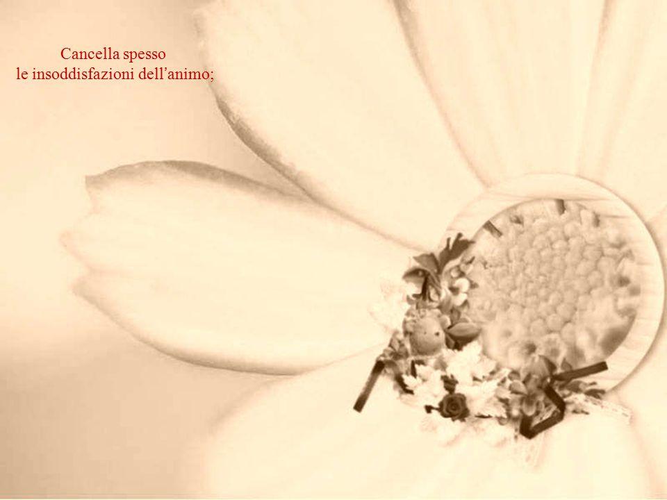 Descrive sempre la bellezza dei fiori,