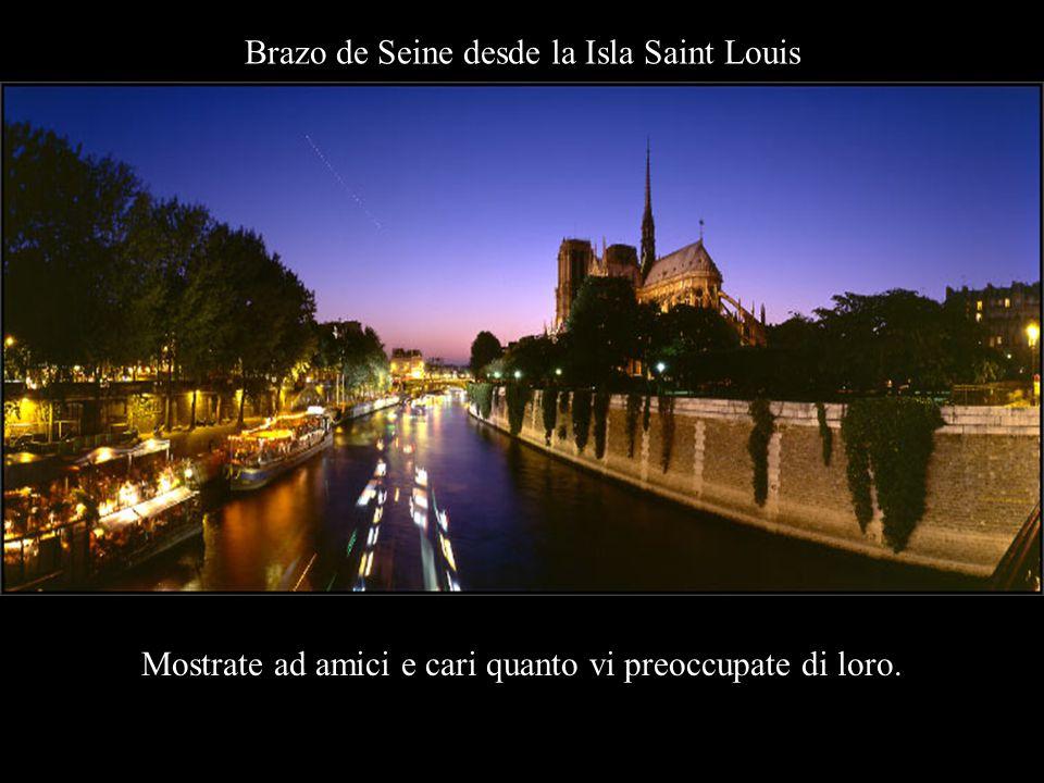 Notre Dame de París desde el Puente de Archevéché Nessuno vi ricorderà se mantenete segreti i vostri pensieri.