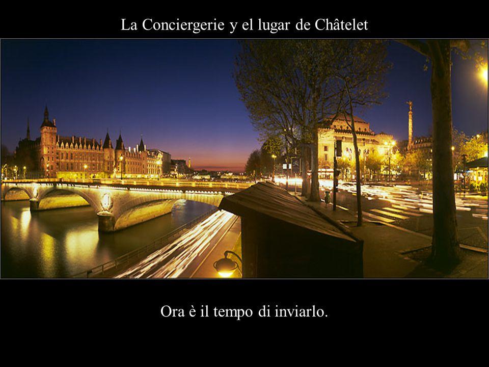 París bajo la lluvia E non importerà nemmeno….