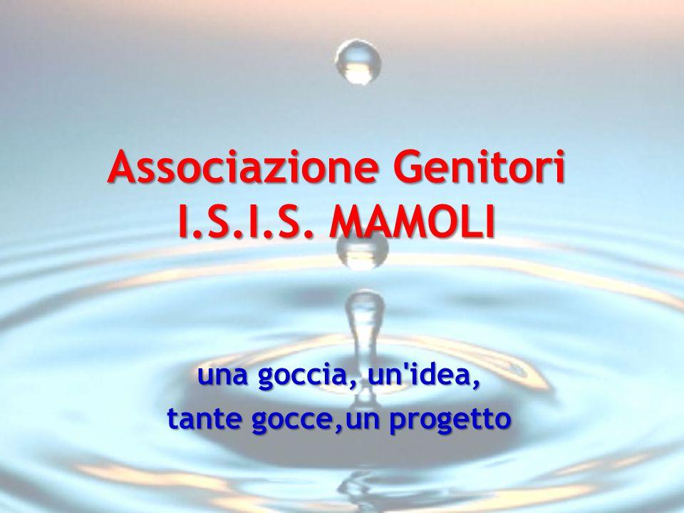 Associazione Genitori I.S.I.S. MAMOLI una goccia, un'idea, tante gocce,un progetto