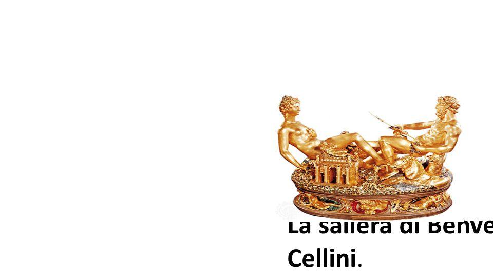 La saliera di Benvenuto Cellini. L artigiano prevale sulla materia, e sull algoritmo concept
