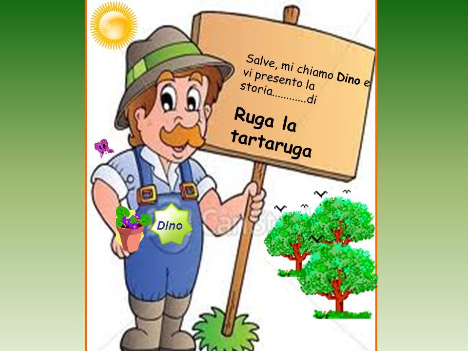Salve, mi chiamo Dino e vi presento la storia............di Ruga la tartaruga Dino