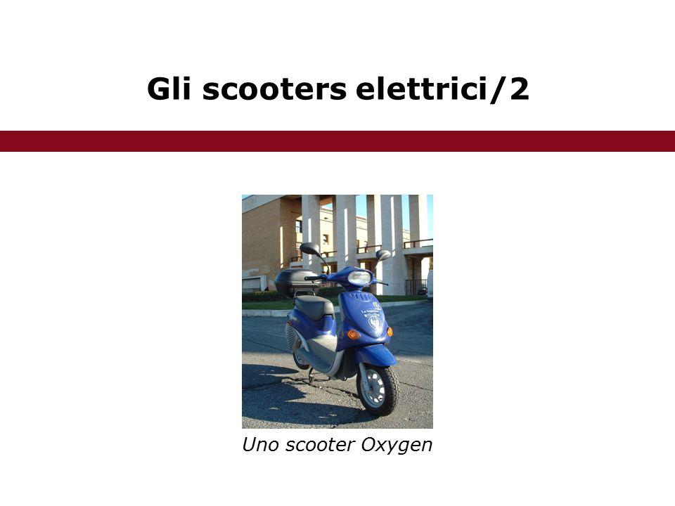 Gli scooters elettrici/2 Uno scooter Oxygen