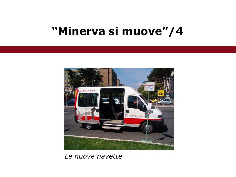 Minerva si muove /4 Le nuove navette