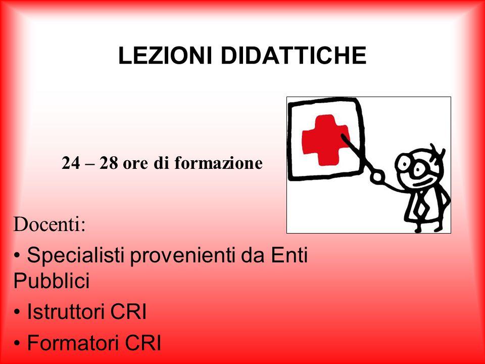 L'obiettivo del corso è formare il personale CRI sulle metodologie di gestione ed organizzazione di un emergenza, fornendo le capacità necessarie a la