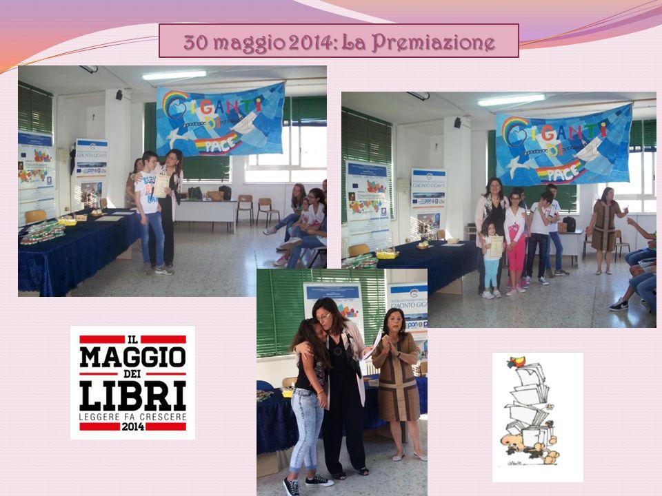 30 maggio 2014: La Premiazione