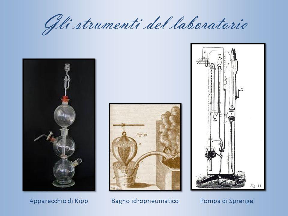 Gli strumenti del laboratorio Pompa di SprengelBagno idropneumaticoApparecchio di Kipp