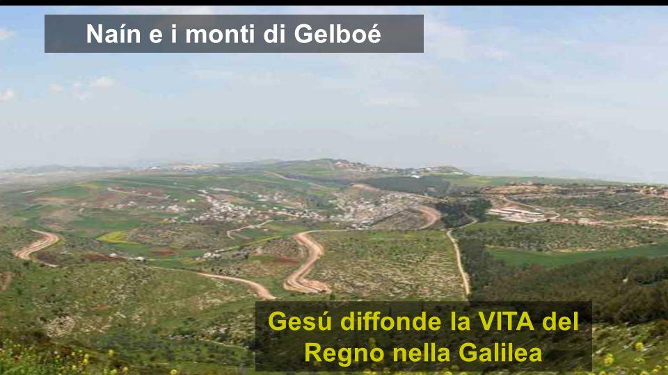 Naín e i monti di Gelboé Gesú diffonde la VITA del Regno nella Galilea
