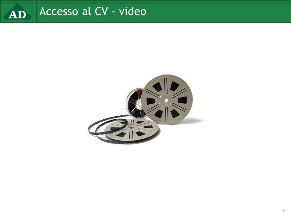 Accesso al CV - video 8
