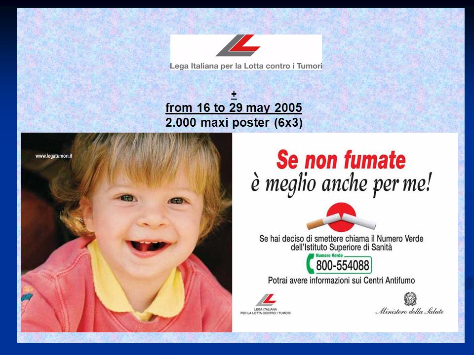 + from16to29may2005 2.000 maxi poster (6x3)