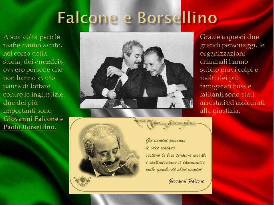 Giovanni Falcone Paolo Borsellino.
