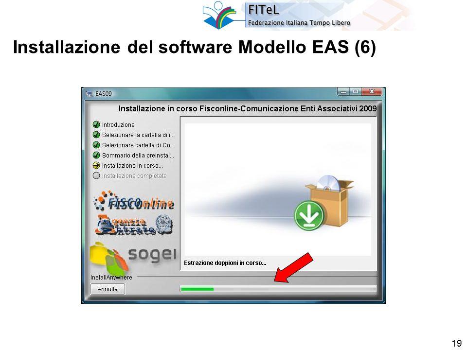19 Installazione del software Modello EAS (6)