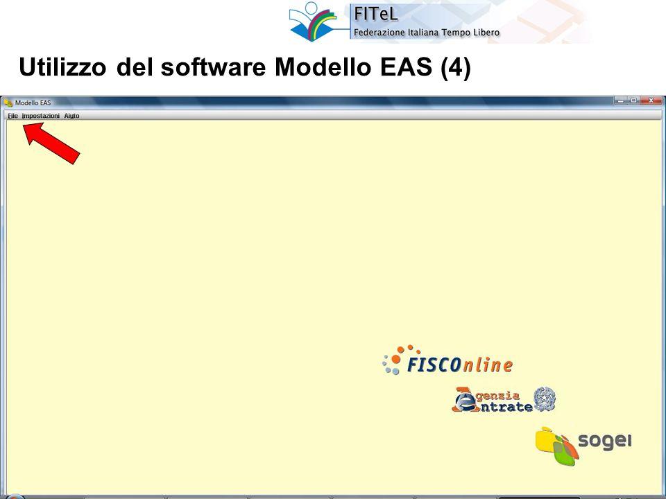 25 Utilizzo del software Modello EAS (4)