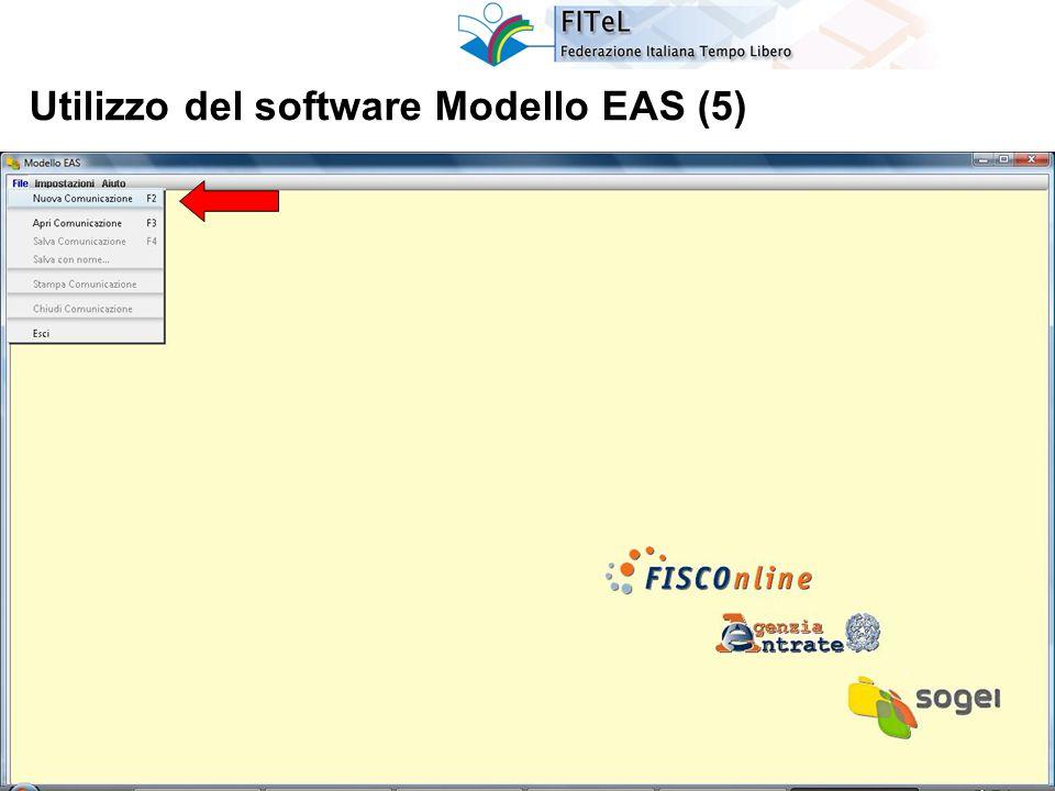 26 Utilizzo del software Modello EAS (5)