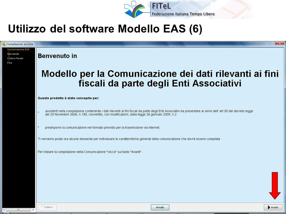 27 Utilizzo del software Modello EAS (6)