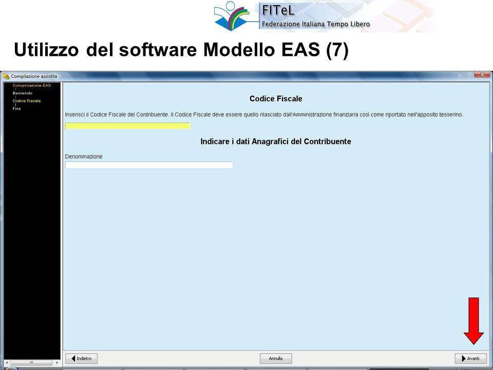 28 Utilizzo del software Modello EAS (7)