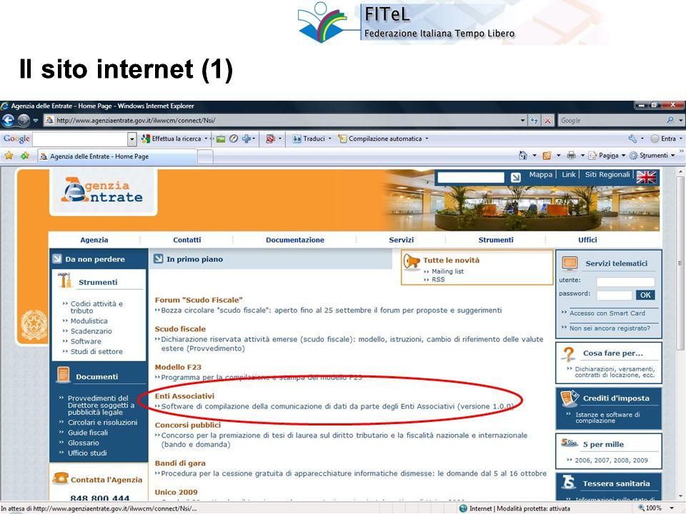 4 Il sito internet (2)