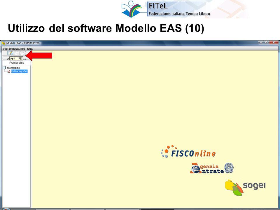 31 Utilizzo del software Modello EAS (10)
