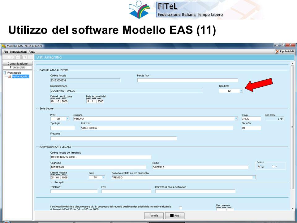 32 Utilizzo del software Modello EAS (11)
