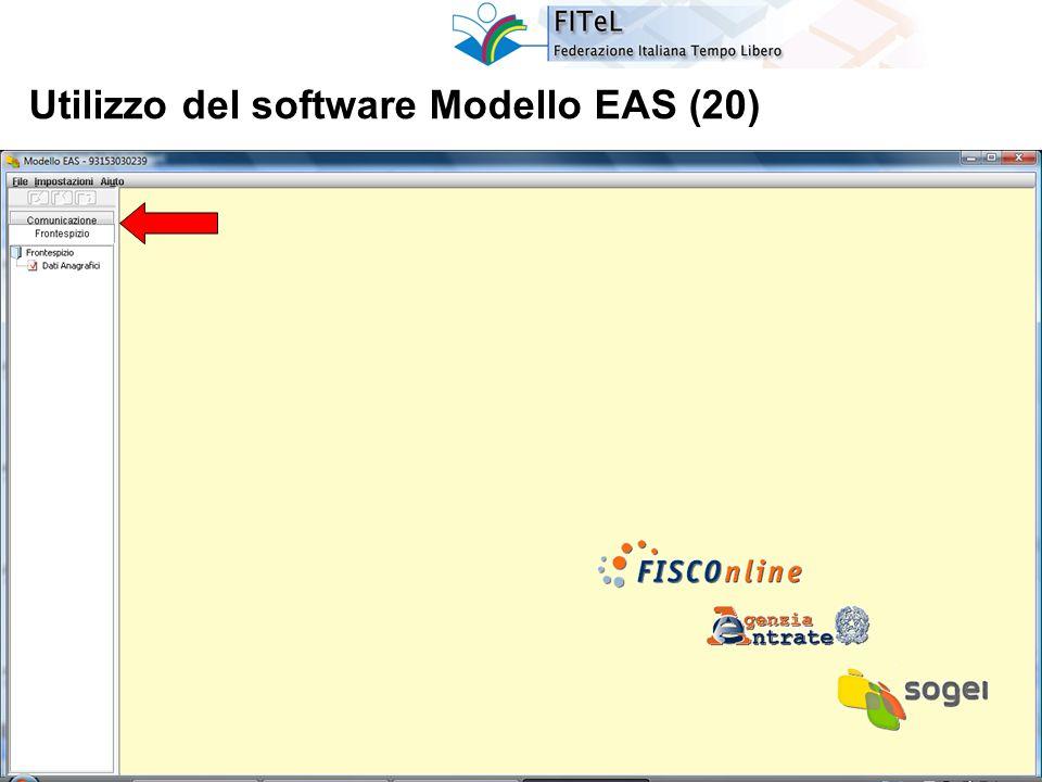 41 Utilizzo del software Modello EAS (20)